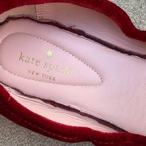 kate spade Shoes - Kate Spade Velvet Globe Foldable Ballet Flats
